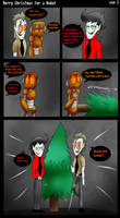 Merry Christmas For A Robot Page 3 by ghxstlly