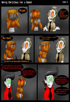 Merry Christmas For A Robot Page 4 by ghxstlly