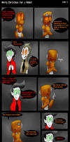 Merry Christmas For A Robot Page 5 by ghxstlly