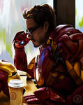 Tony Stark by Py3rr