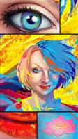 portrait  - vibrant  colors by LimKis