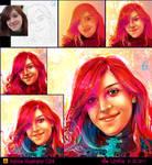portrait - vibrant colors 02 by LimKis