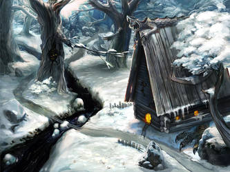 Winter game graphics by LimKis