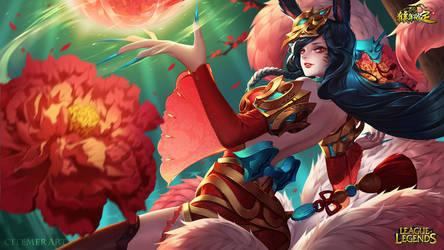 Jade Princess Ahri by citemer