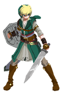 link Unbirth sprite by Methiou