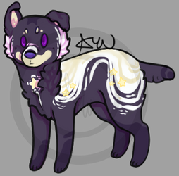 *OPEN* Star-Swoosh all me adopt by Arabianwolflove