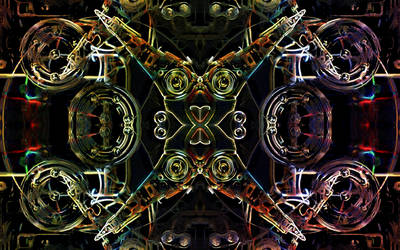 Infernal machine by lumination