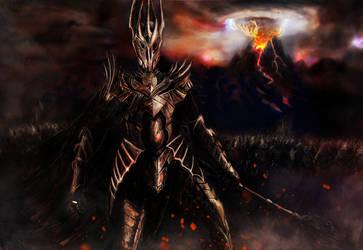 Sauron by OPixeldude