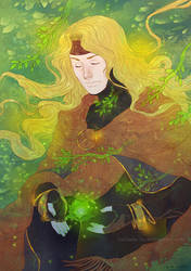 Tales of Art Tribute - Dhaos by Luciana-Lu