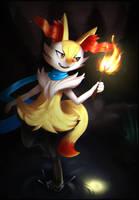 Pokemon - Braixen by JacyA