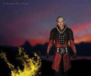Fantasy Elven Lord WIP by AdamTLS