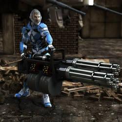 Ive got the Big Gun by AdamTLS