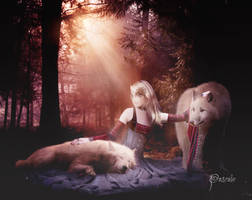 In the company of wolves... by pvleminx