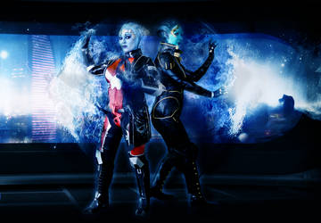 Liara and Samara: Asari Flux by ManticoreEX