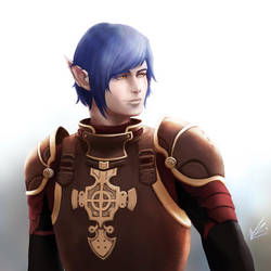Gideloix - Final Fantasy XIV OC by Wineye-ll