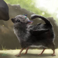 The Last Guardian - Little Trico by Wineye-ll