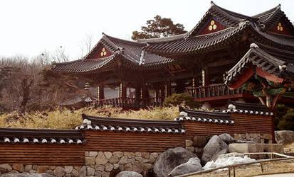 Bongeunsa temple by penragonwebsite