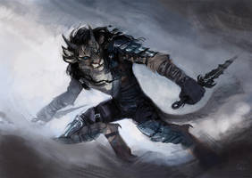 COMMISSION: Sneaky Charr by kaiyela