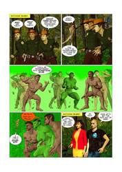 Metamorphoses, Part 9, Pg 3: Back to Nature by chainedknee