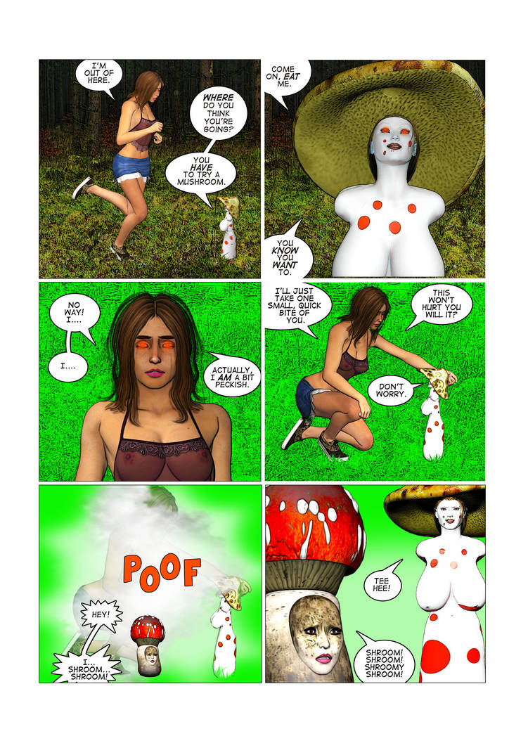 Metamorphoses, Part 9, Pg 7: Back to Nature by chainedknee