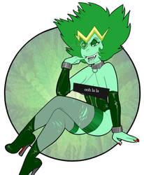Emerald the Kush Queen by SusieBeeca