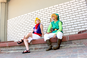 The Legend of Zelda Wind Waker 01 by JustBeFriend