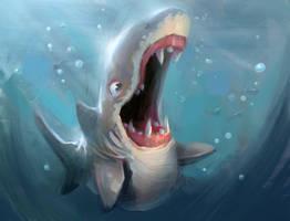 Baby Shark Teeth by MarcoBucci