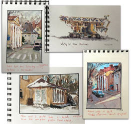 Recent Sketchbook Pages by MarcoBucci