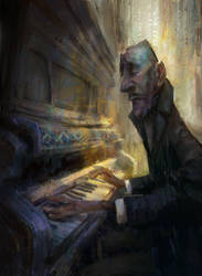 The Pianist by MarcoBucci