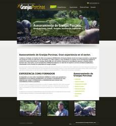 Website design: Porcinas (Spanish) by RIPpler