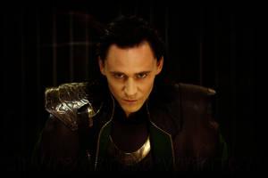 Loki Wallpaper by NeonTardis