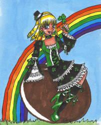 Emerald Princess Wyllcanello by nekonezume