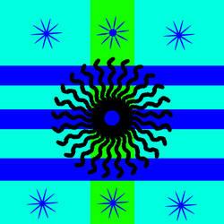 Flag of Samikotakiou (1940-1945 1960-1965) by MattigenMase