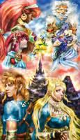 Zelda Breath of the Wild by vanikachan