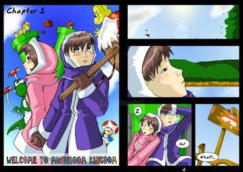 SSBM Adventure - Page 1-2 by TamarinFrog