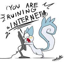 Dear SOPA,PIPA and ACTA... by TamarinFrog