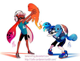 Like No Squid Ever Was by TamarinFrog