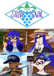 Team Splat Jam by TamarinFrog