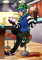 Ramen and Relax by TamarinFrog