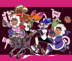 Super Smash Shopping Spree by TamarinFrog