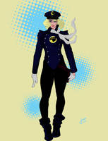 Lady Blackhawk Redesign by Kiick318