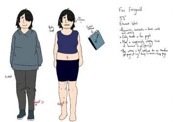 [REF] Fae Fitzgerald by lordmetaknight
