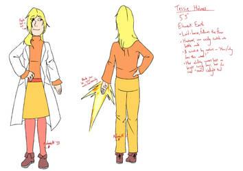 [REF] Tessie Holmes by lordmetaknight
