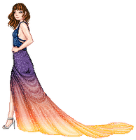 Inspired by Night Skies - Glam! Contest Example by AxxKat