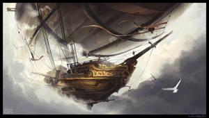 Airship by Min-Nguen