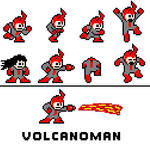 Volcanoman (Megaman OC) by Antimateria1997