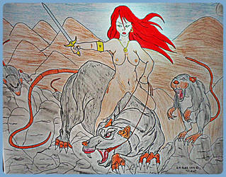 rats valley. by kitano123