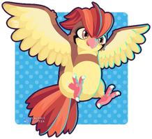 017 Pidgeotto by Miss-Glitter
