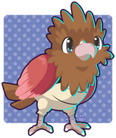 021 Spearow by Miss-Glitter