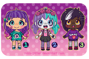 Adopts~spooky cute [closed!] by Miss-Glitter